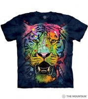 Russo Tiger Face - Adult Tiger T-shirt - The Mountain® | Tam's Treasures